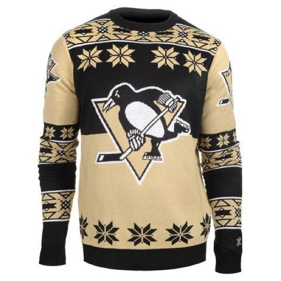 🔥SALE NWT Pittsburgh Penguins NHL logo sweater XL 8bb3bea0f